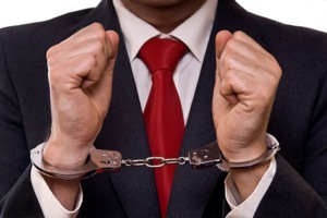 white collar crimes arrest
